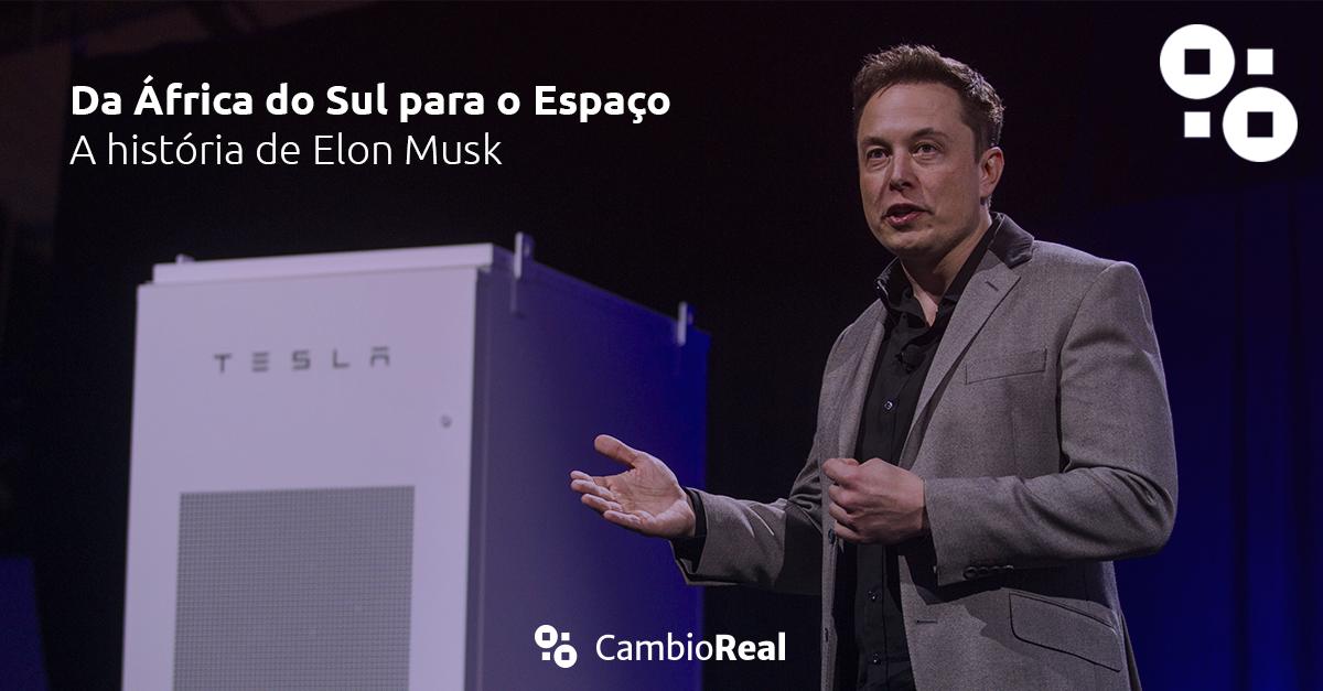 Elon Musk - Da África do Sul para o Espaço