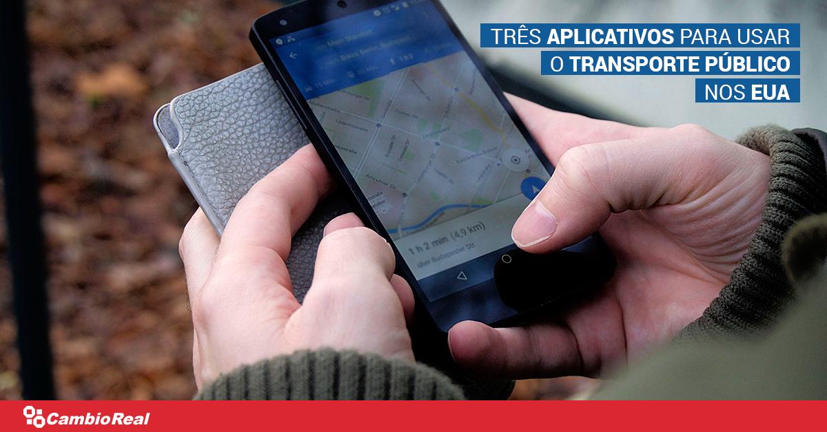 Três aplicativos para usar o transporte público nos Estados Unidos