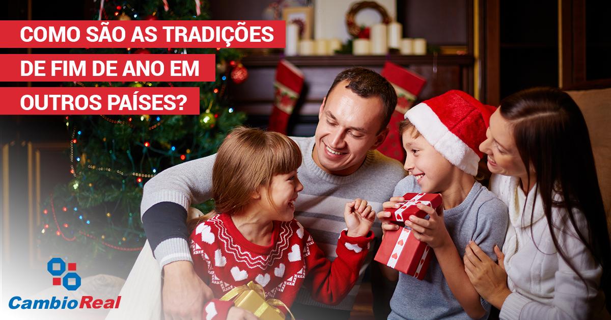 Como são as tradições de fim de ano em outros países?