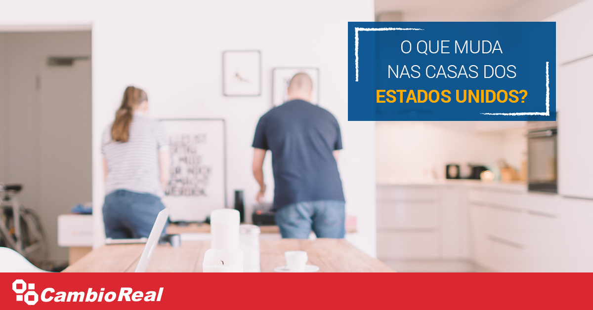 Quais são as diferenças entre as casas americanas e as brasileiras?