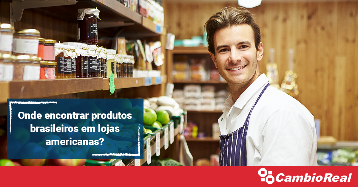 Onde encontrar produtos brasileiros em lojas americanas?